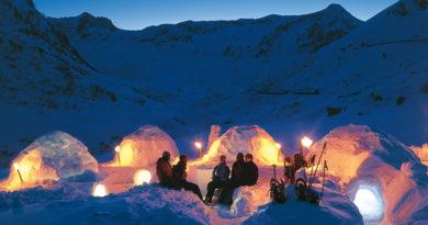 Los más alucinantes hoteles de hielo del mundo