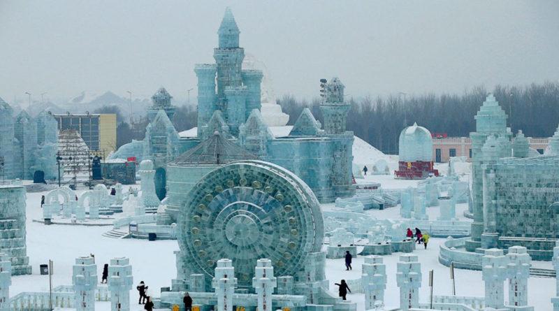 Harbin, la espectacular ciudad de nieve y hielo de China