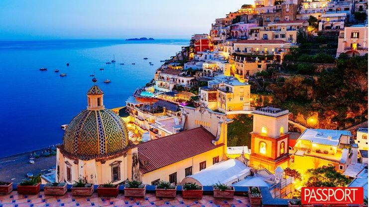 Amalfi, un bello punto de la costa italiana