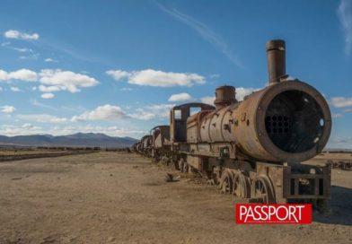 El desierto donde mueren los trenes