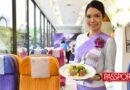 Una aerolínea lanza un restaurante para nostálgicos de la comida de avión